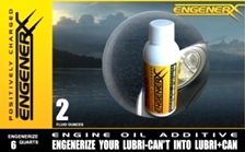 High Performance EngeneRx | 2 fl oz Engenerizes up to six quarts of mineral or synthetic motor oil.